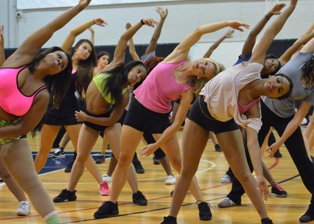 Cheerleading tryout cheers learn this routine