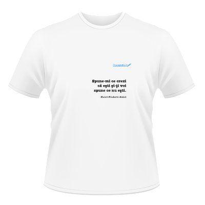 tricou cu acest citat