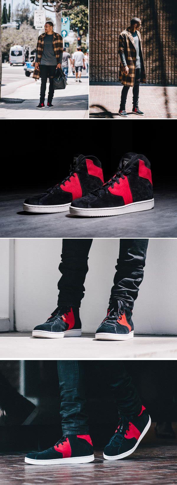Nike Jordan Westbrook 2.0 QS Basketball Black Red Free Shipping