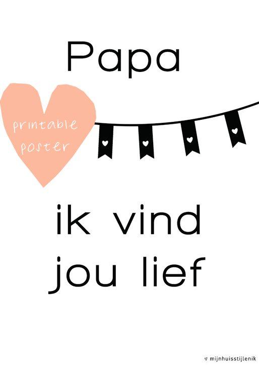mijnhuisstijlenik: Vaderdag. Leuk voor vaderdag! #vaderdag #fathersday #happyfathersday