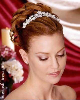 tiara peinados - Buscar con Google