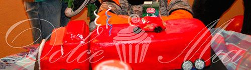 Torta MAC, camión de Rayo mc queen