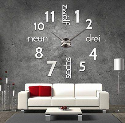 Více než 25 nejlepších nápadů na Pinterestu na téma Wanduhren - moderne wanduhren wohnzimmer