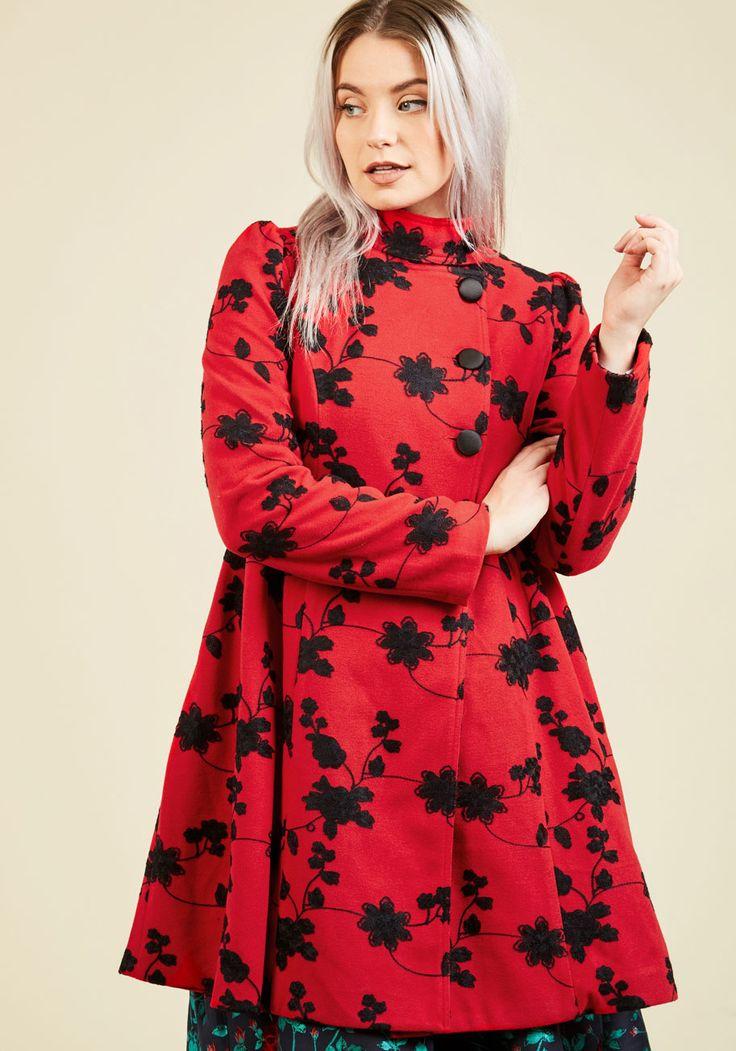 Wish You Luxe Coat, @ModCloth