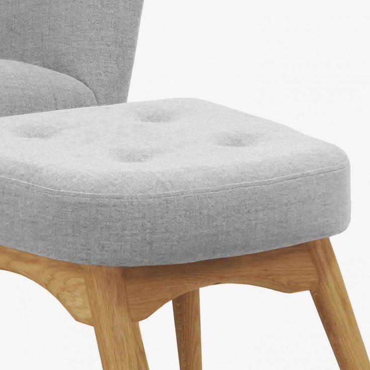 Hocker grau design sessel scandinavia grau inkl hocker for Design sessel scandinavia