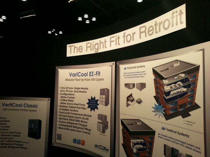 United Cool Air showcases its VariCool EZ-Fit for floor-by-floor variable air volume applications.