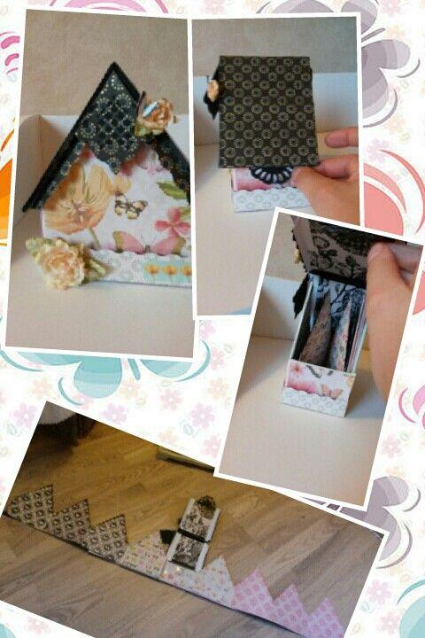 Butterfly garden stack minialbum