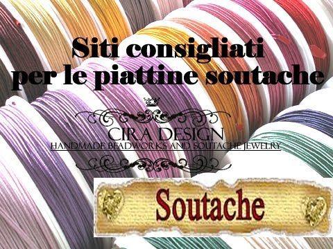 Tecnica Soutaches con Perle Swarovski - Art Bijoux Materiale utilizzato per la creazione e realizzazione: Link: http://artbijoux.it/accessori-strumenti/souta...