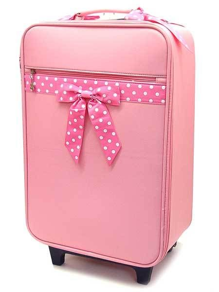pink suitcases | Niengroem's Blog: suitcases for women