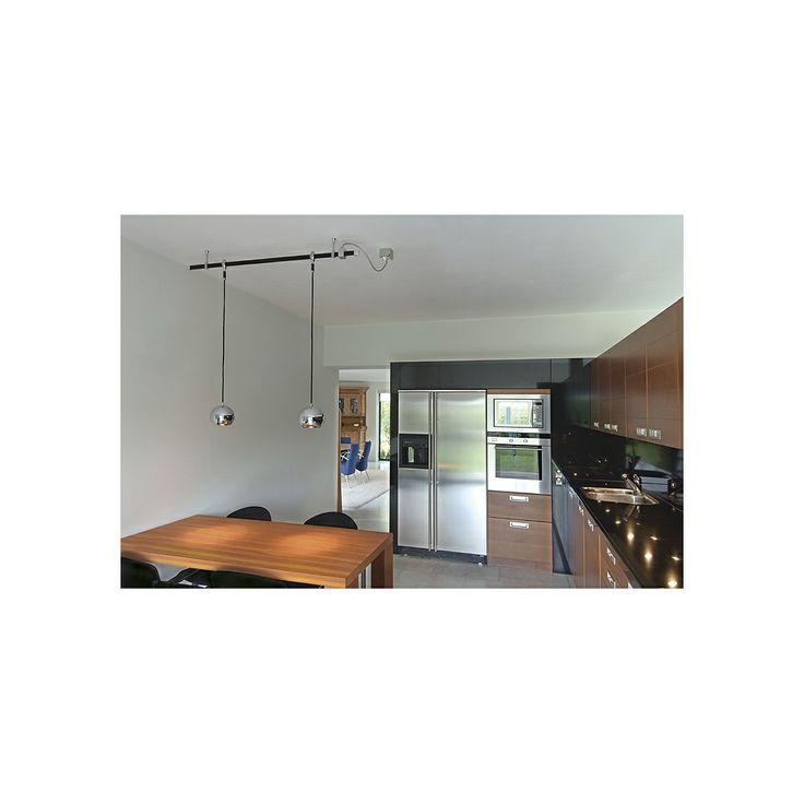 living room track lighting%0A INTALITE        Light Eye Pendant Easytec II    v Track Light Chrome   Buy  from Arrow Electrical