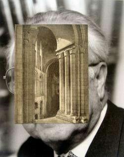 John Stezaker Old Mask V  2006  Collage  24.5 x 19.5 cm