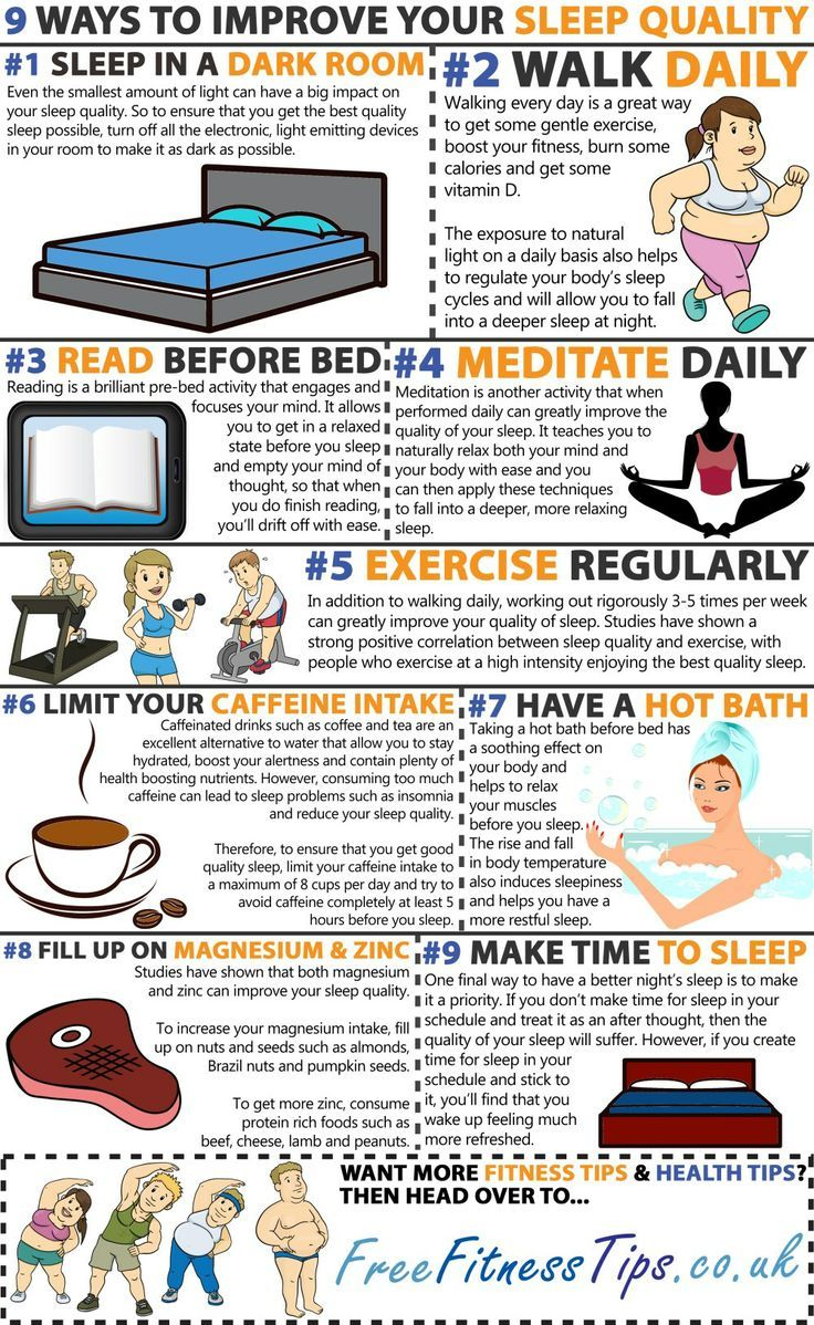 9 Ways To Improve Your Sleep Quality | Favorite Pins