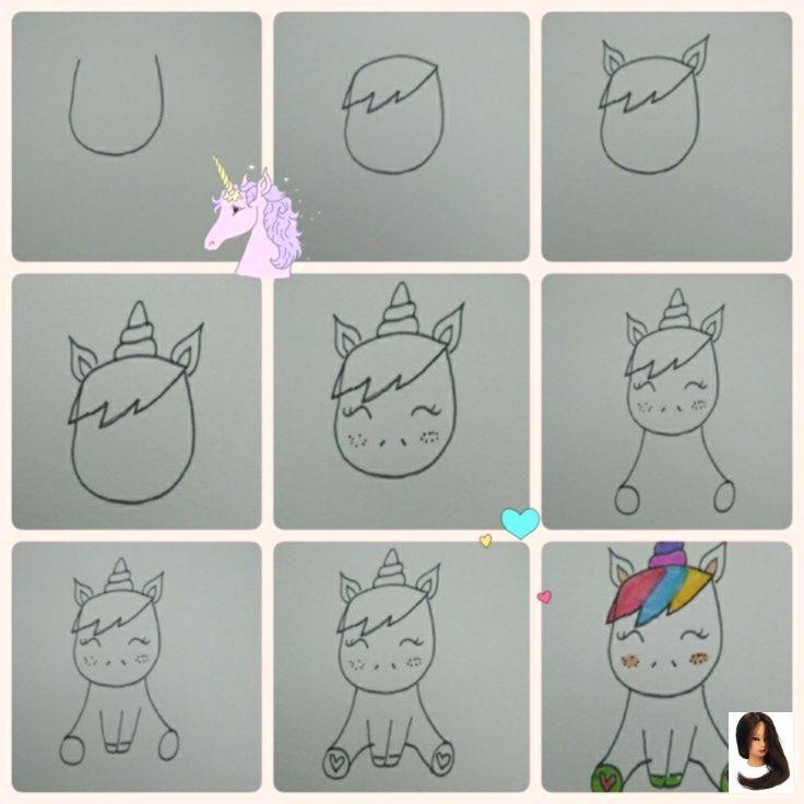 A Unicorn After My Own Heart Einhorn Zeichnen Einhorn Malen Einhorn Tattoos