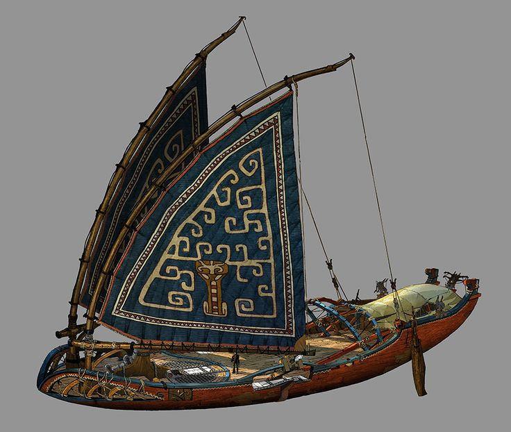 Final design for Eret's ship. #httyd2