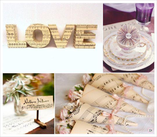 Nouveau 41 best mariage thème musique images on Pinterest   Music notes  UK75