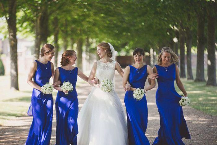 cobalt blue bridesmaid dresses-7