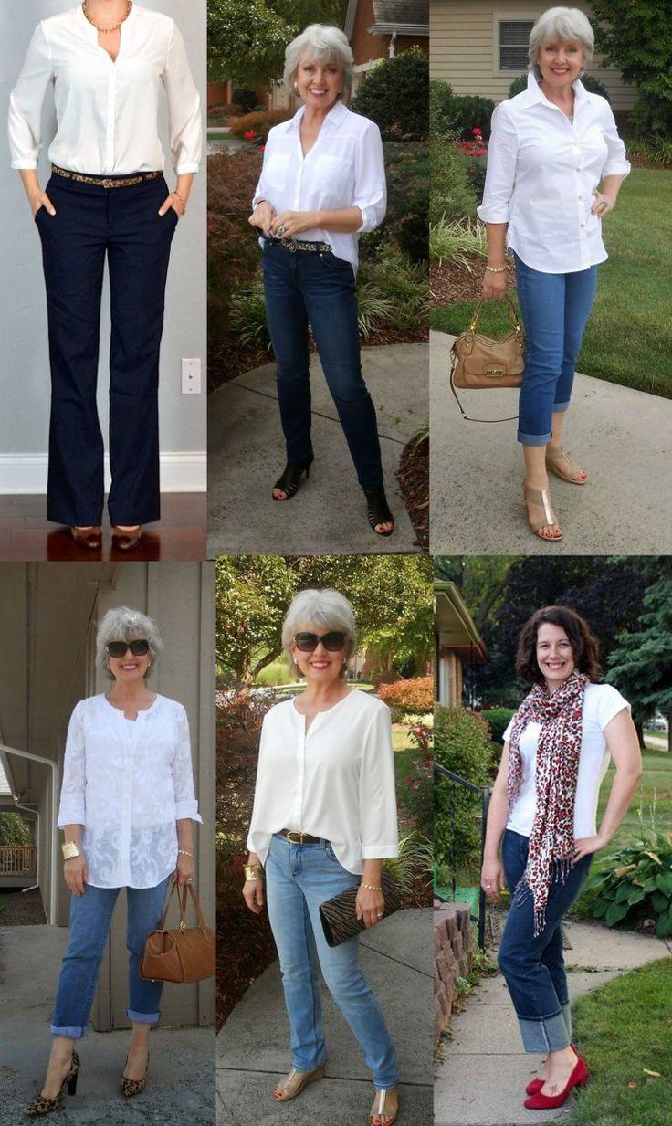 mode pour femme de 50 ans
