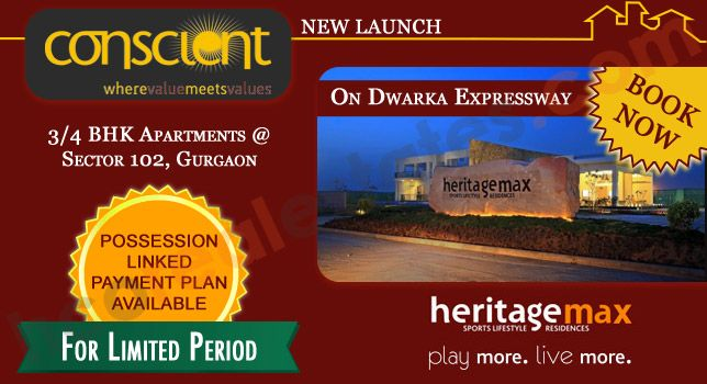 Located at Sector-102 Gurgaon, on Dwarka Expressway