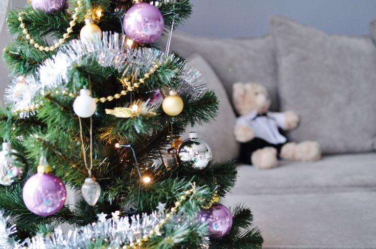 fashionable.com.pl Christmas, decor, home, bear, christmas tree, święta, dekoracje świąteczne, miś, dom,