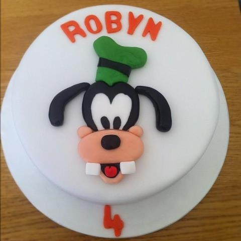 Delicious chocolate cake made into Goofy! £45