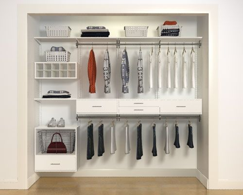 Find This Pin And More On The Clever Closet | Organized Living By  Organizedliving.