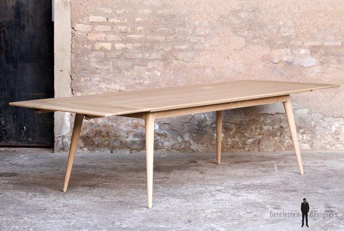 17 meilleures id es propos de table rallonge sur - Table massif rallonge ...
