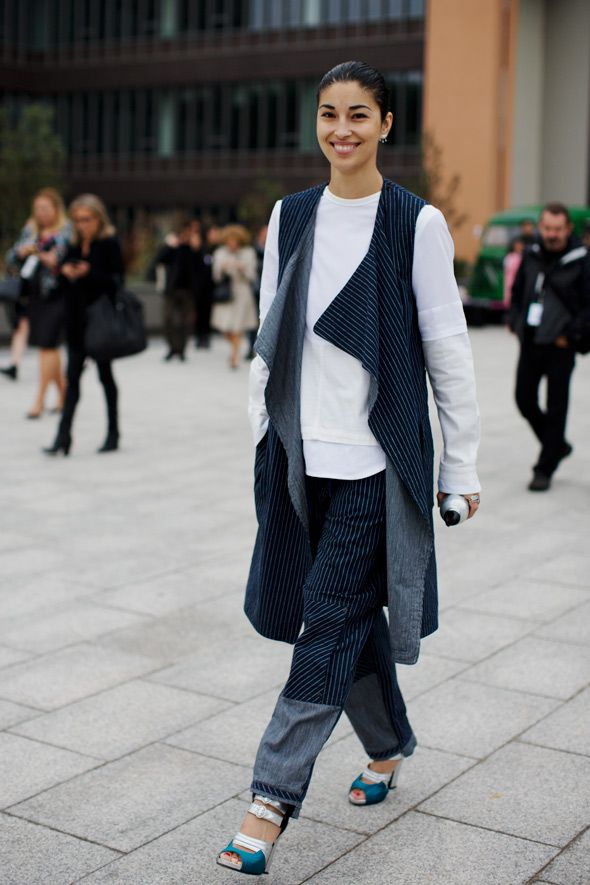 At Kenzo Paris Via The Sartorialist Street Style