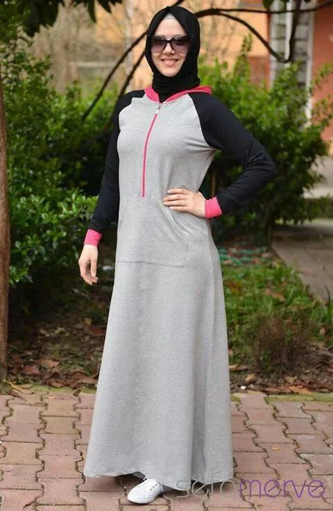 sport abaya!