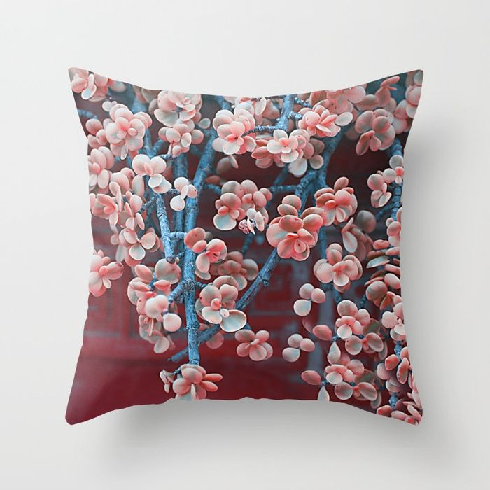 Buy Blue & pink succulent Throw Pillow by maryberg. Worldwide shipping available at Society6.com. Just one of millions of high quality products available.