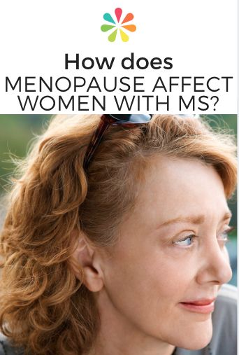 How Does Menopause Affect Women With MS