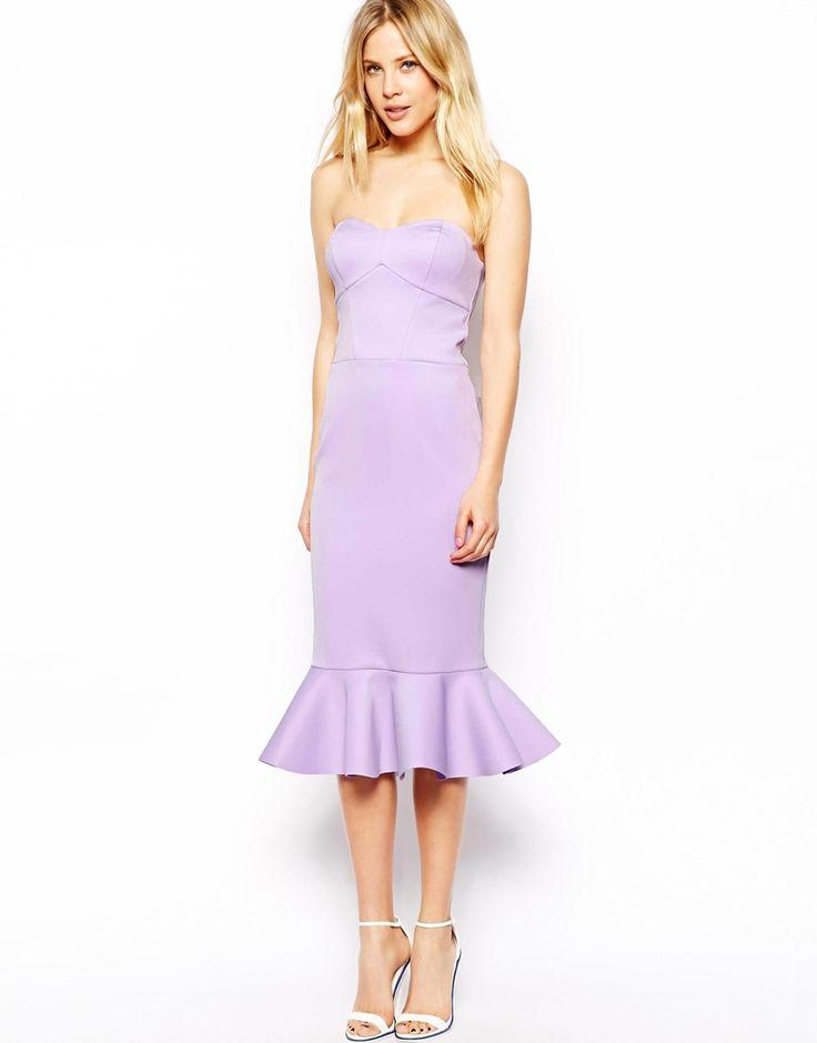Asos bonded peplum hem pencil dress i need a dress or for Peplum dresses for wedding guest