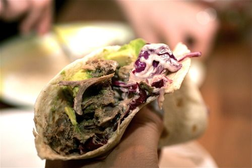 Women Eat NYC - Braised Pork Tacos with Chili-Lime Red Cabbage Slaw ...