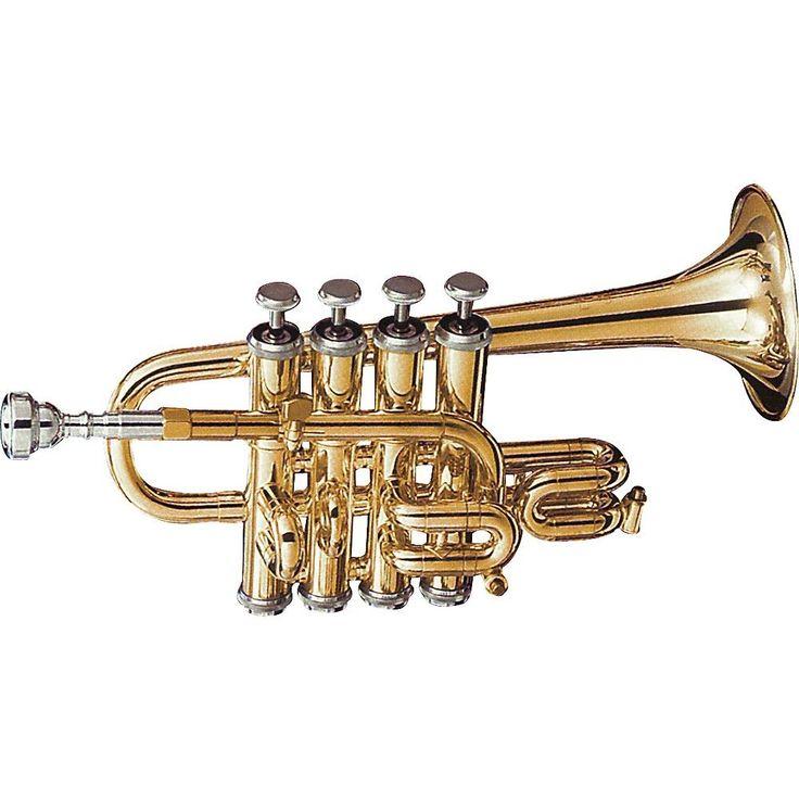Getzen 940 Eterna Series Bb/A Piccolo Trumpet Lacquer