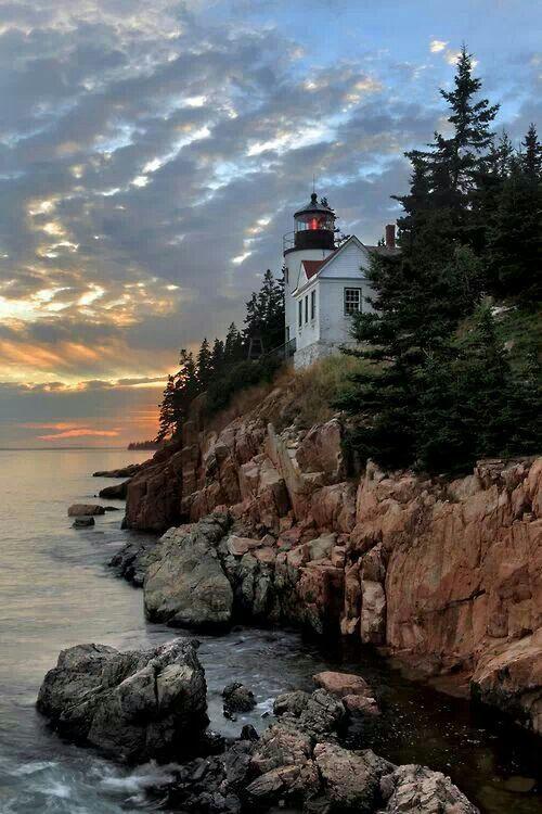 Bass Harbor Head Lighthouse - Maine