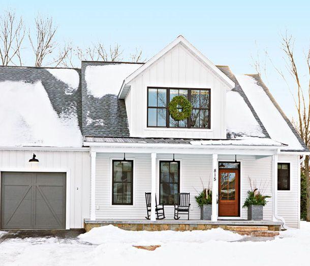 Best 25 White Exterior Houses Ideas On Pinterest