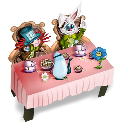 Alice In Wonderland Cartoon Characters All  Images Are Free For Your Own Personal Use.