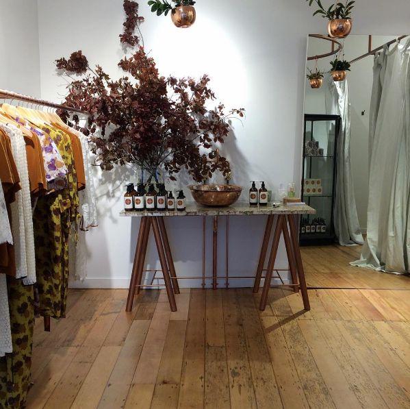 Ingrid Starnes, Ponsonby store interior.