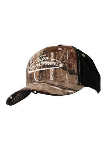 Team Realtree Camo Hat with LED Lights in Visor Camo 5c26e39f39d