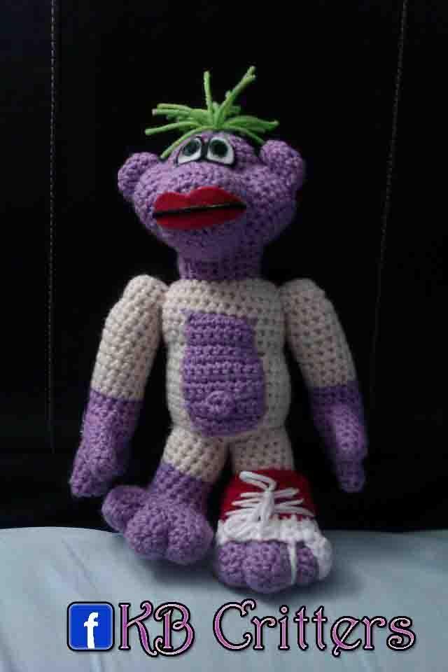 No Pattern. Crocheted Peanut (Jeff Dunham)