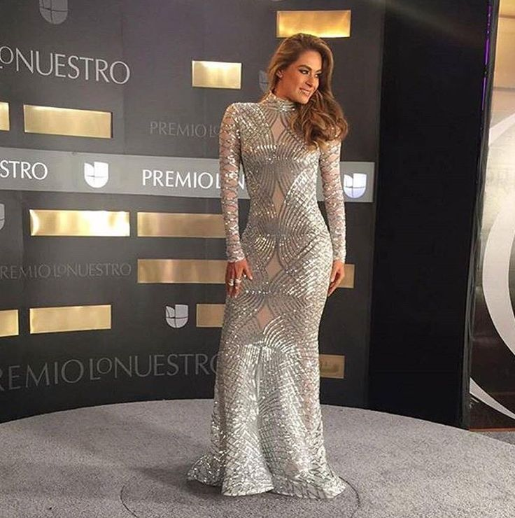 Galilea Montijo dress #Premiolonuestro2016
