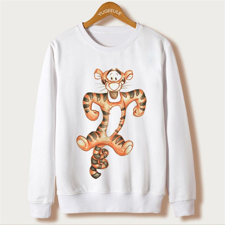 Kawaii Clothes With Mouse Cartoon Cute Print and Tracksuit Moletom White Sudaderas Mujer Casual Sweatshirt Women Hoodies Long Sleeve