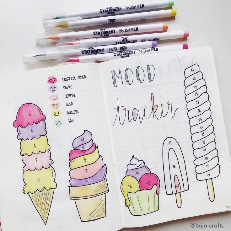 Juli Mood Tracker macht mich hungrig 🤪 Farben verwendet, um die Stimmung zu verfolgen, sind von … – #Die #farben #hungrig #Juli #macht