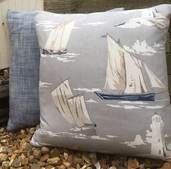 Yacht Cushion Boat Gift Nautical Cushion Cover Seaside Cushion