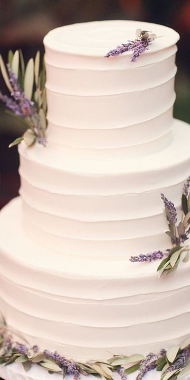 Best 25 Lavender Big Wedding Cakes Ideas On Pinterest