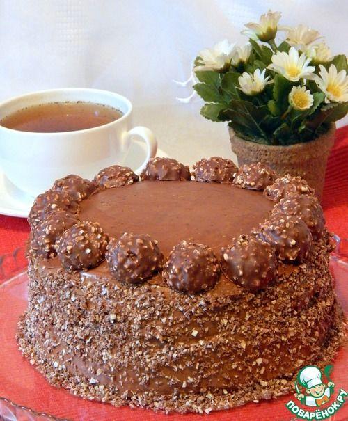 """Шоколаднее не бывает - торт """"Ferrero rocher"""". Обсуждение на LiveInternet - Российский Сервис Онлайн-Дневников"""