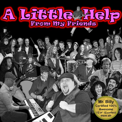 A Little Help From My Friends, the CD