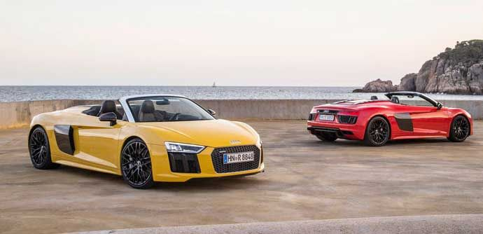 2017 Audi R8 Spyder Review, Specifications, Price