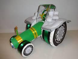 luier tractor maken