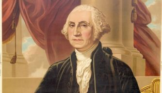 George Washington was a leader of the Continental Army in the American Revolution, and was the first to become U.S. president.