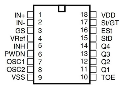dtmf decoder ic mt8870 pin diagram central heating y plan wiring of electronic project ideas